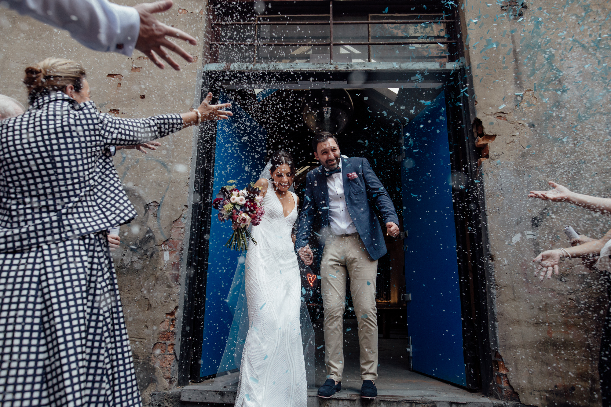 10 tips for using confetti at your wedding