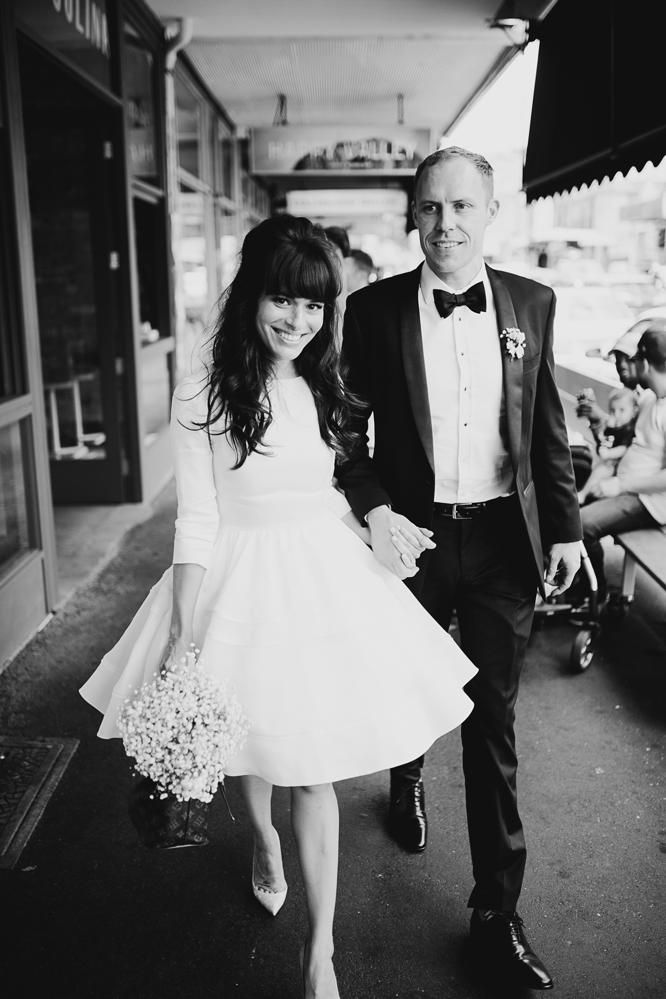 smith street Collingwood wedding