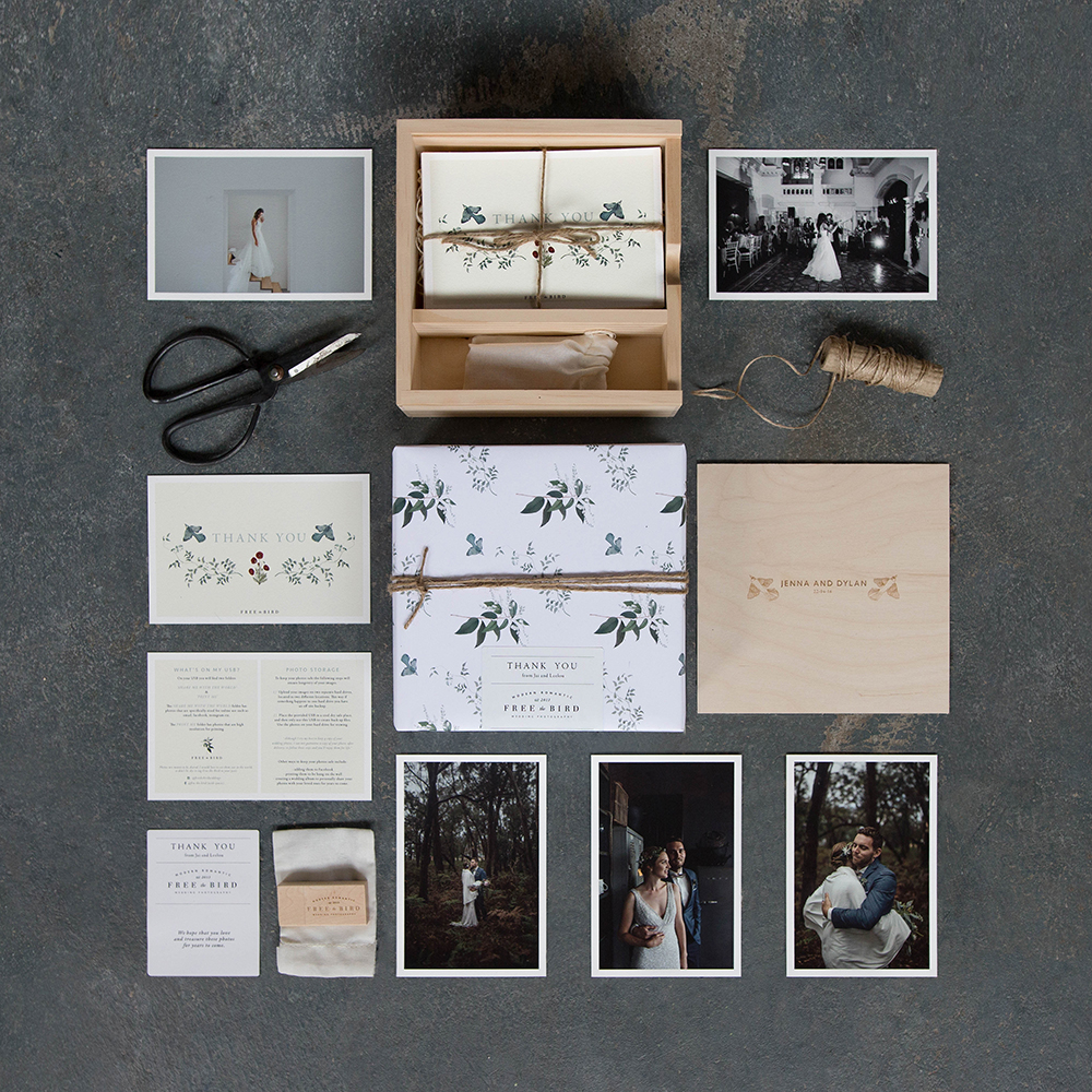 wedding photography packaging