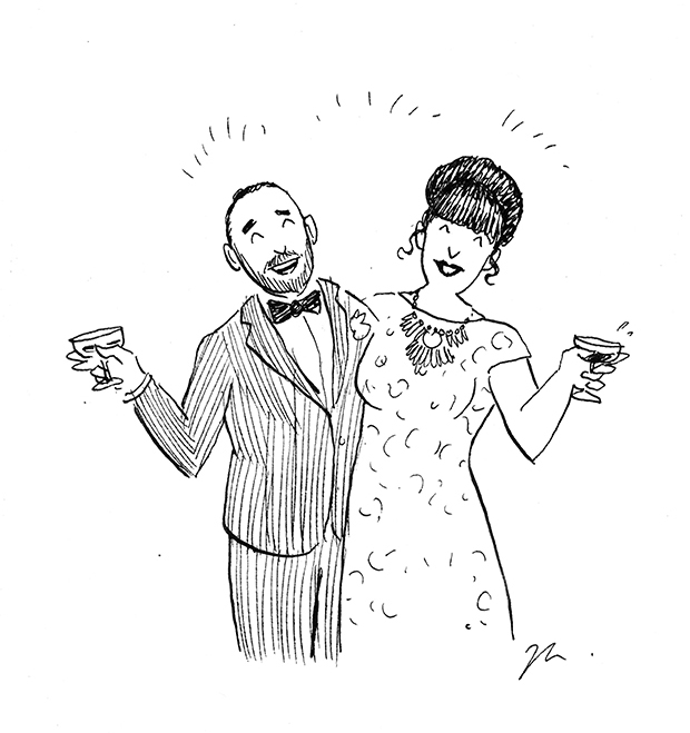 wedding illustrations melbourne