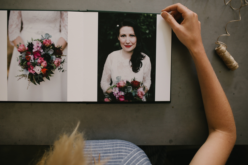 fine art wedding books