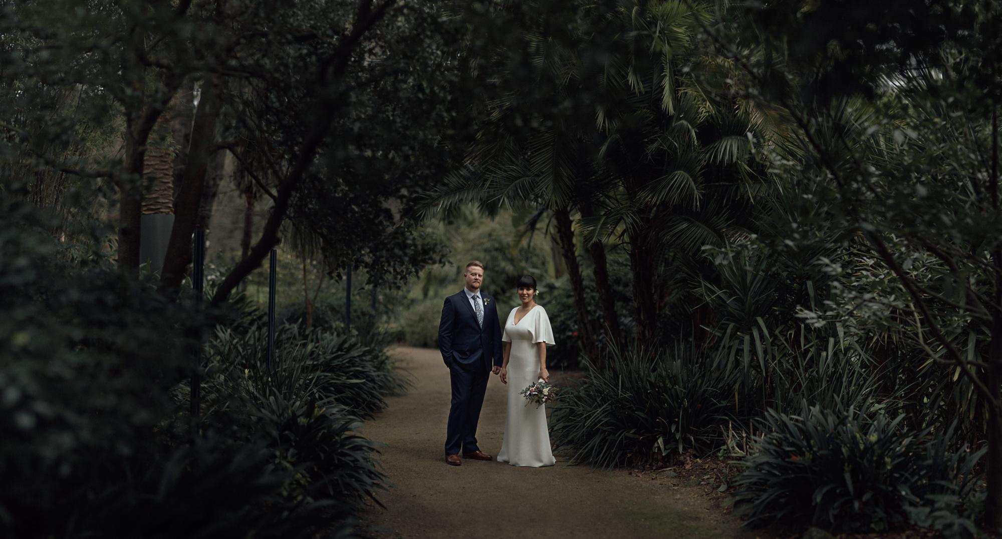 Melbourne gardens wedding