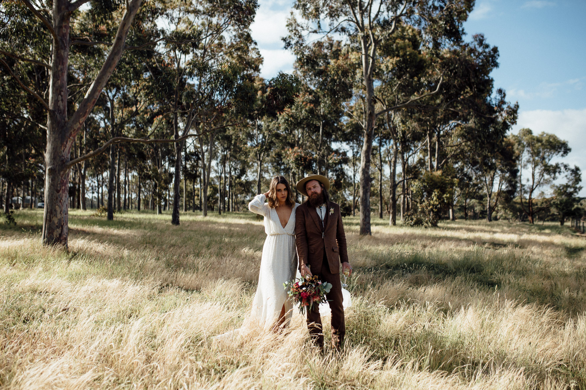 Melbourne hipster Wedding photography