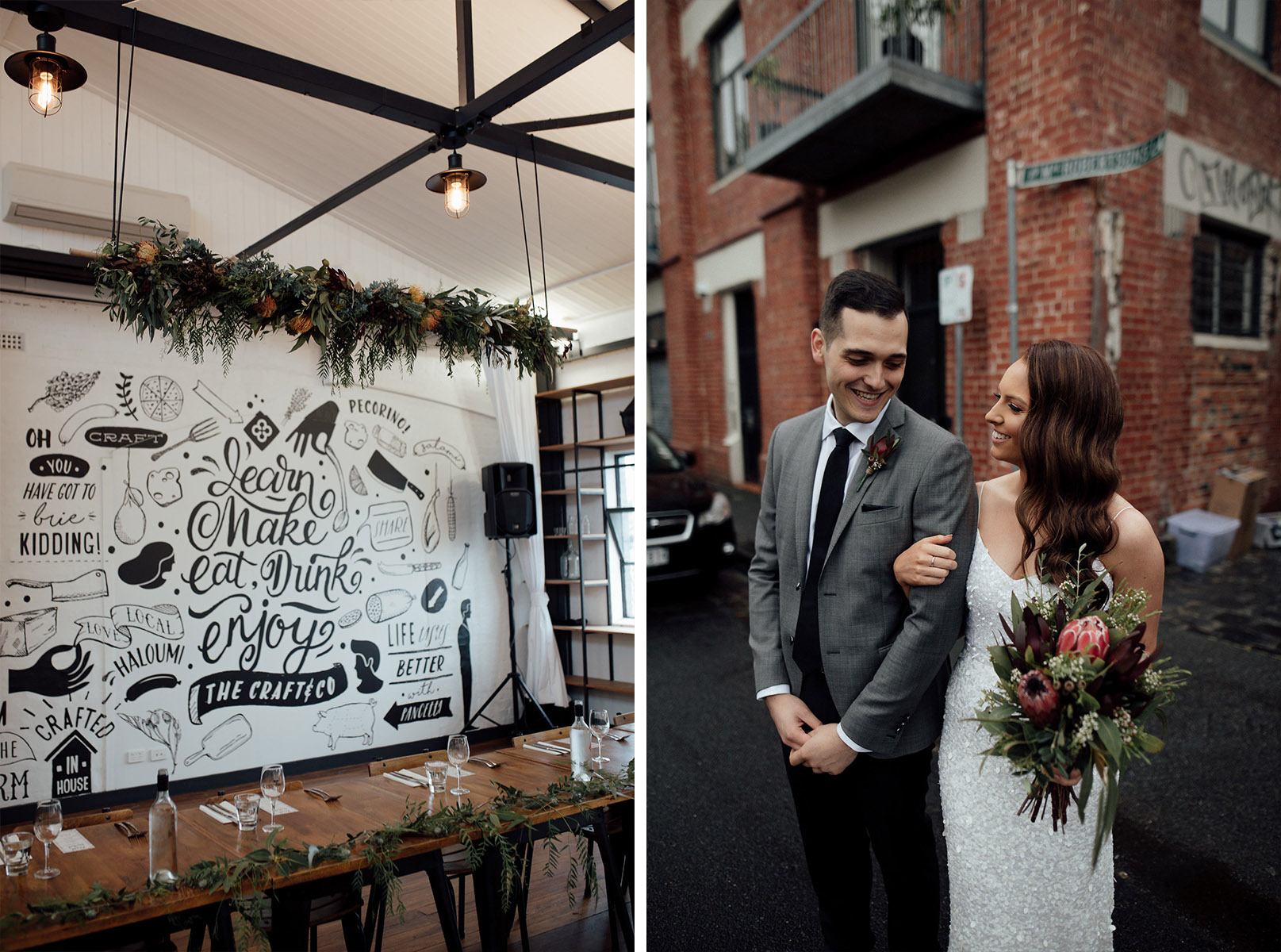 Craft and Co wedding