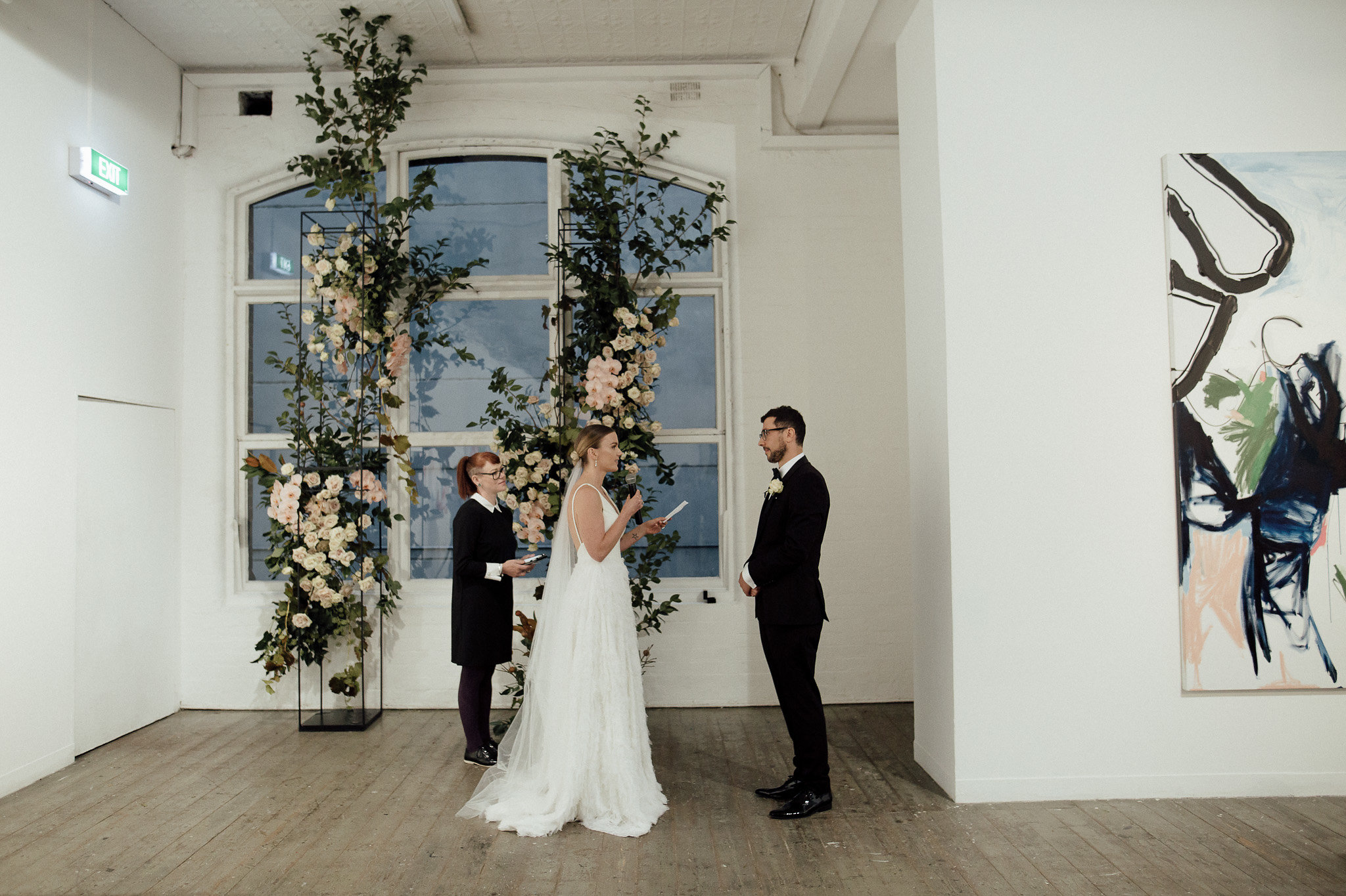 Forty Five Downstairs wedding