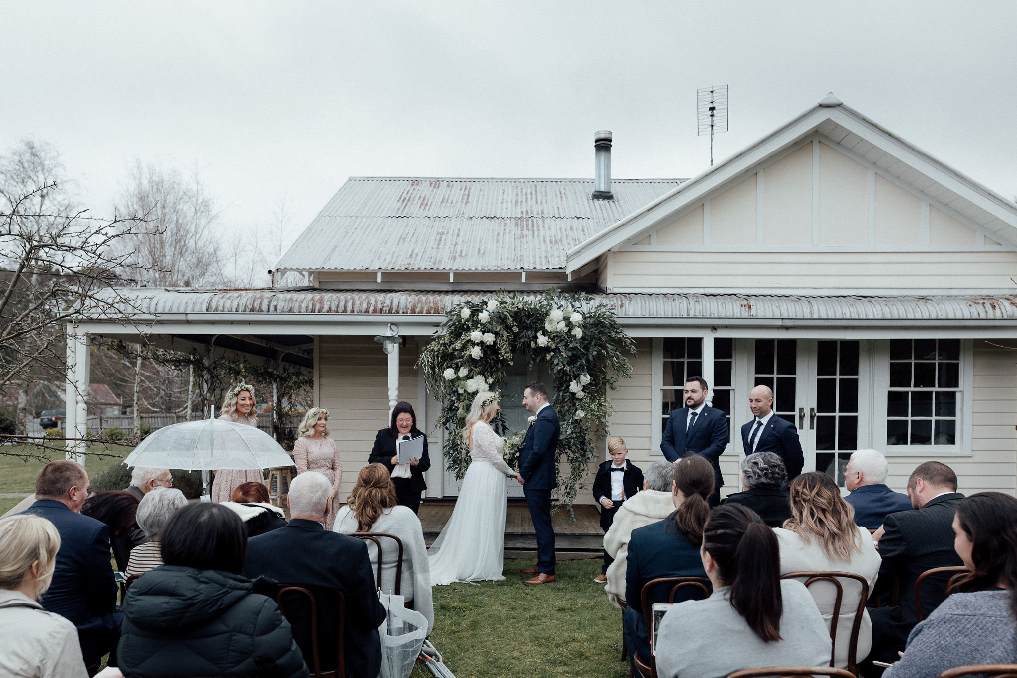 The Estate Trentham wedding