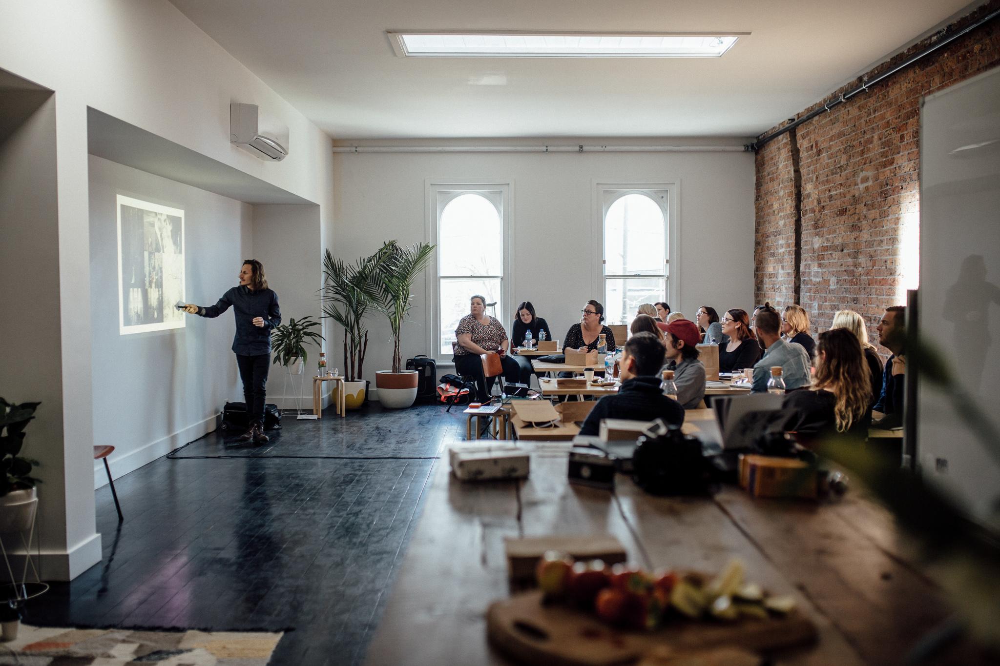 Melbourne wedding photography workshop